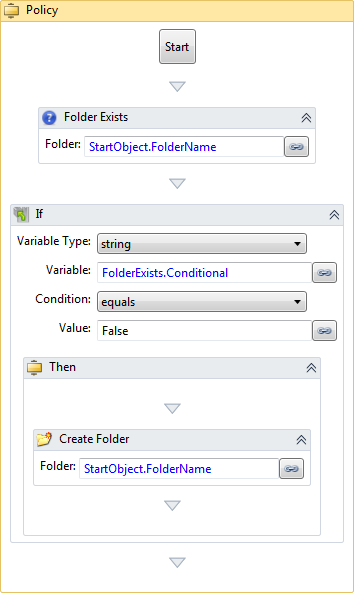 Create New Automation Manager Policy