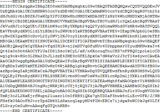 KBA30002: SSL Certificate Troubleshooting